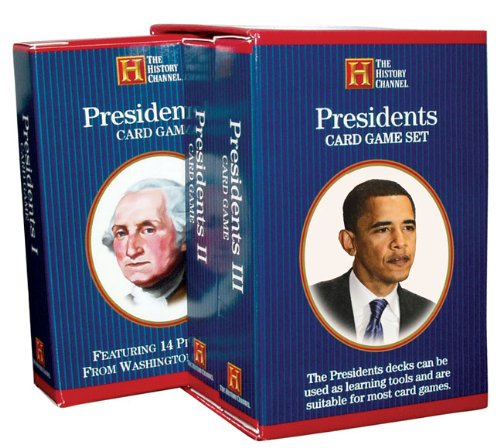 Presidents Card Game Set: Featuring 43 Presidents : 1789-Present ()