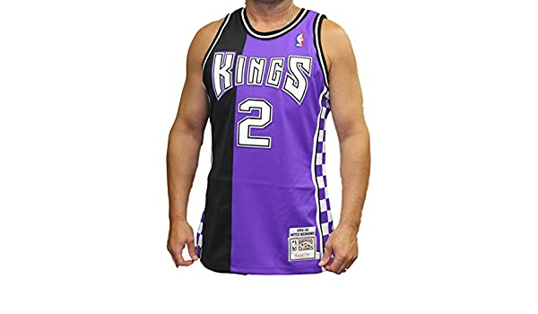 3edfca9722b Amazon.com   Mitchell   Ness Mitch Richmond Sacramento Kings Authentic  1994-95 NBA Jersey   Sports   Outdoors