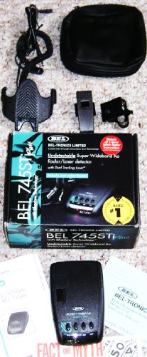 Bel-Tronics BEL 745STi Plus Radar / Laser Detector Review