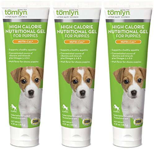 Tomlyn Nutri Cal Puppy - Nutri-cal for Puppy High-calorie Nutritional Supplement, 4.25-ounce (Pack of 3)