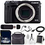 Canon EOS M3 Mark III 24.2 Mp Mirrorless Camera (International Model) (Black) 6Ave Saver