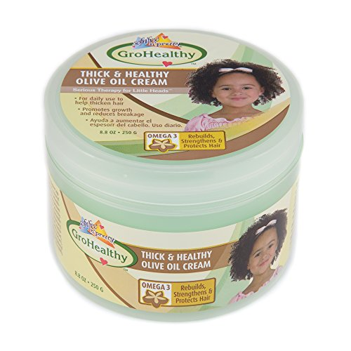 Olive Oil Black Hair Care - Sofn'Free n'Pretty GroHealthy Thick And Healthy Olive Oil Cream 8.8 oz Single