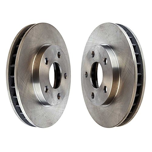 Prime Choice Auto Parts R65038PR Front Brake Disc Rotor Pair (Buick Front Brake Rotor)