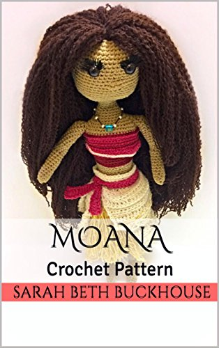 Disney Princess Afghans (Moana Crochet Pattern : A stitch by stitch guide with pictures and easy to follow instructions (Princess Crochet Patterns  Book)