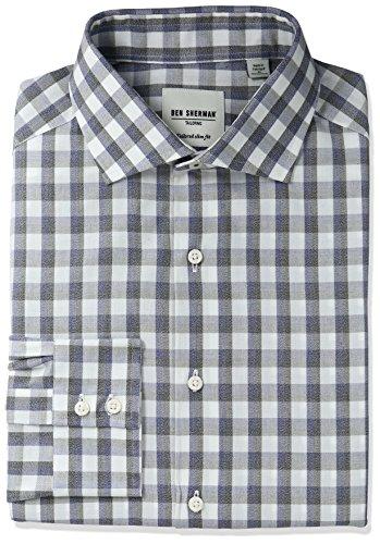 Ben Sherman Check Spread Collar product image