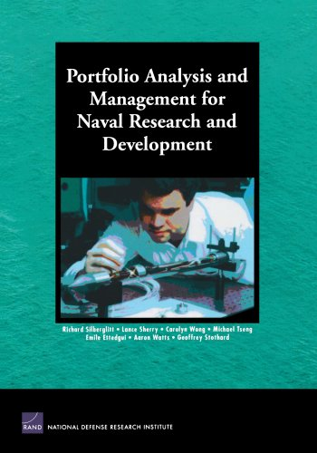 Portfolio Analysis and Management for Naval Research and Development