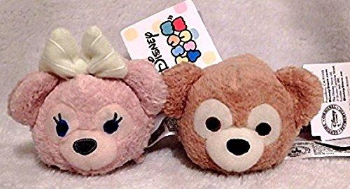 Pair Duffy & ShellieMay Disney Bear TSUM TSUM Tsum Tsum Plush Mascot