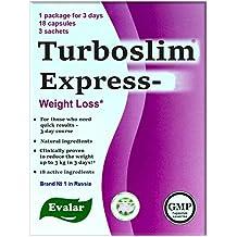 TURBOSLIM Express, 18 capsules and 3 sachets