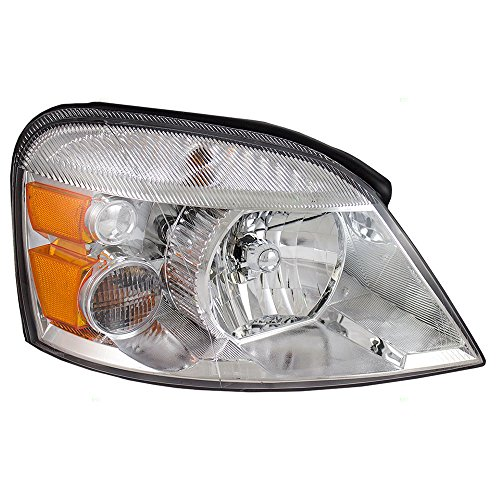 Passengers Halogen Headlight Combination Headlamp Replacement for 2004-2007 Ford Freestar Mercury Monterey Van 7F2Z13008A - Mercury Monterey Van