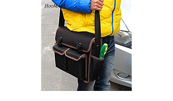 Multifunctional Hardware Kit Telecom Electrical Bag  Thicker Oxford Backpack