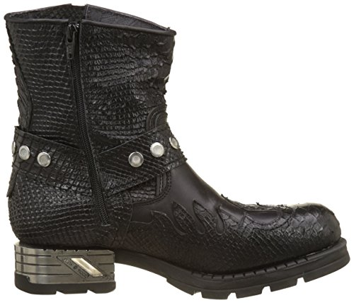 New Rock Herren M-mr041-s5 Cowboystiefel, Black, Black Schwarz (Black)