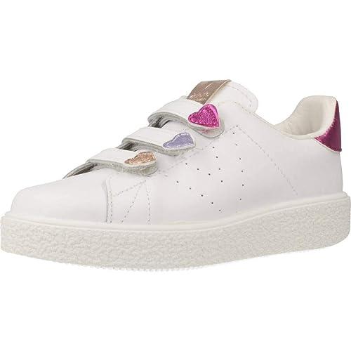 Zapatillas para niña, Color Blanco, Marca VICTORIA, Modelo Zapatillas para Niña VICTORIA 1262132 Blanco: Amazon.es: Zapatos y complementos