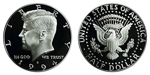 1994 S US Mint Deep Cameo Kennedy Proof Half DCAM