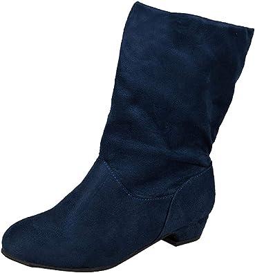 retorta precisamente Repulsión  Botas Altas Mujer Invierno K-Youth Moda Botas Mujer Invierno Altas Zapatos  Mujer Fiesta Plataforma 2019 Baratos Botas de Mujer Otoño Casual Chic  Zapatos para Mujer: Amazon.es: Zapatos y complementos