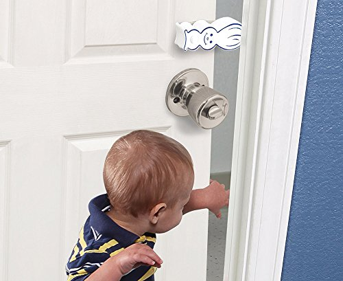 4 Pk Door Bunny Finger Safety Guard Bumper Stop. Flips On/Off. By Carlsbad Safety Products … by Pinch-Not (Image #2)