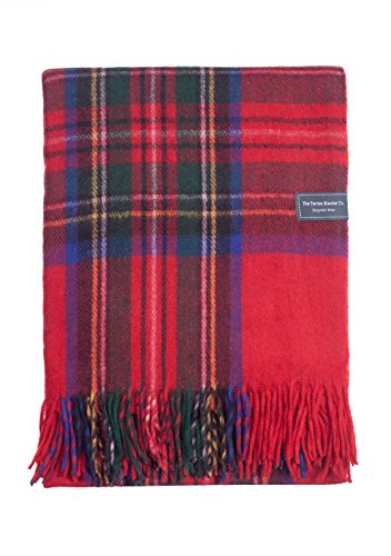 The Tartan Blanket Co.. Recycled Wool Blanket Stewart Royal Tartan (68