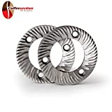 Grinding Burrs for MAZZER Grinder SUPER JOLLY, Pair, 64mm - Italy