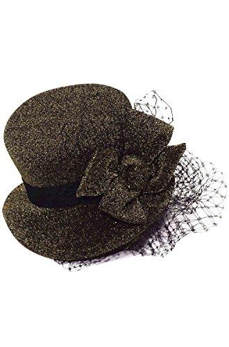 Forum Women's Steampunk Mini Hat On A Headband, Brown, One (Ladies Steampunk Hats)