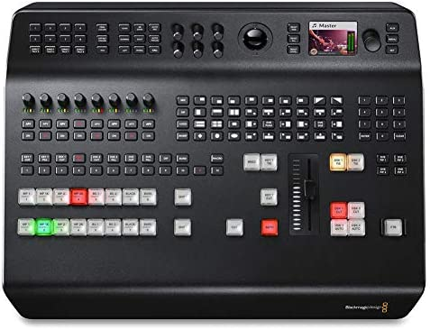 Blackmagic Design ATEM Television Studio Pro 4K UHD Live Production Switcher, 8x 12G-SDI Inputs