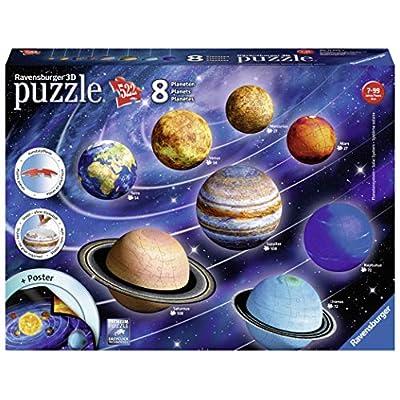 Ravensburger Il Sistema Planetario 3d Puzzleball