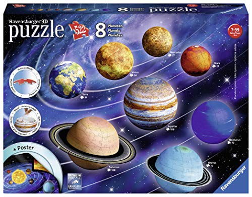 Ravensburger 11668 3D Puzzle Solar System