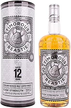 Douglas Laing & Co. Douglas Laing TIMOROUS BEASTIE 12 Years Old Highland Blended Malt CASK STRENGTH 54,4% Vol. 0,7l in Giftbox - 700 ml