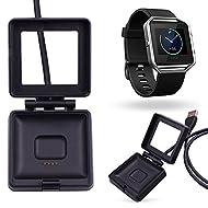 Zanasta® haute qualité USB câble de chargement pour Fitbit Blaze | Remplacement de chargement Chargeur USB câble