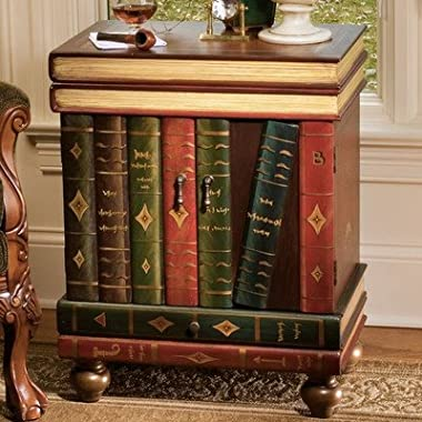 Design Toscano The Lord Byron Wooden End Table