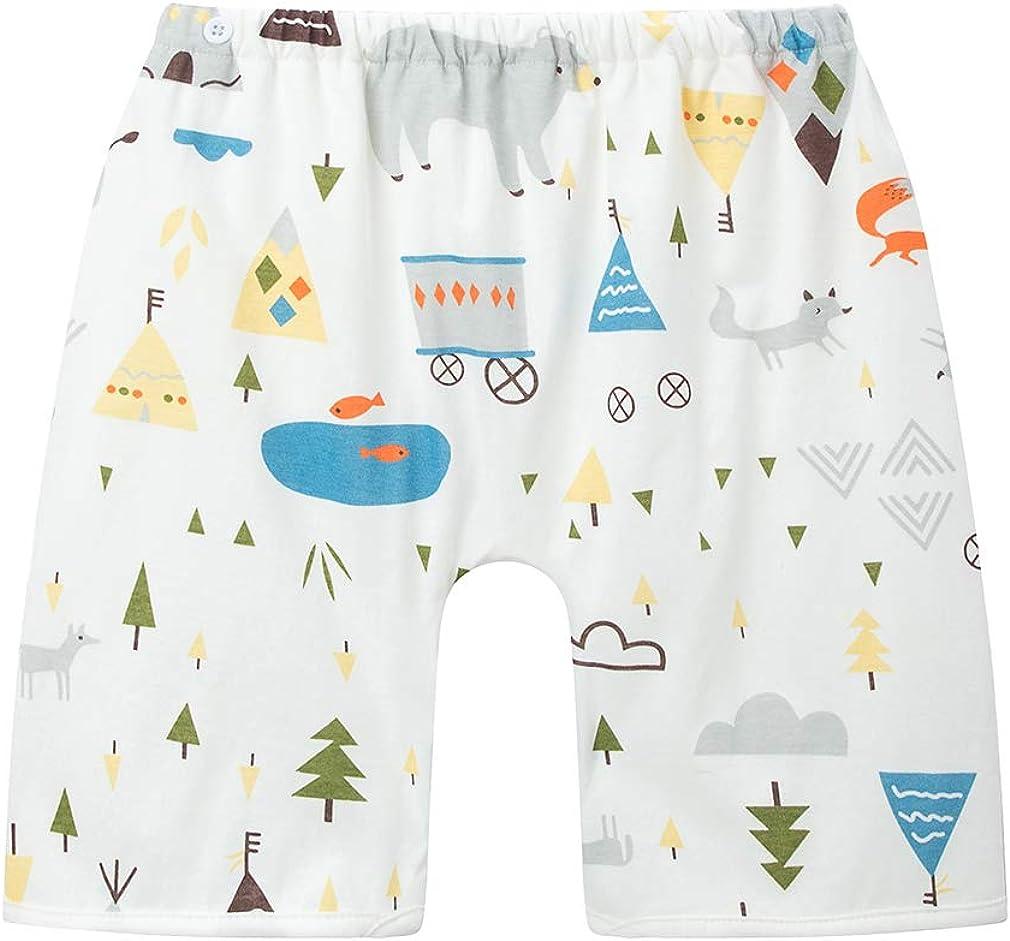 Newborn brown shorts with sunshade