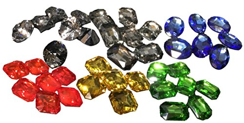 宝石の煌めき アップグレード トークン 6種セット ガラスビーズの商品画像