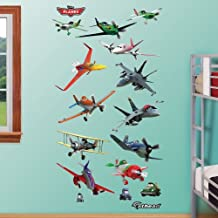 Fathead 74-74592 Wall Decal, Planes Real.Big Collection