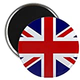 2.25 Inch Magnet British English Flag HD