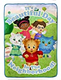 PBS Kids Daniel Tiger 'Treehouse Pals' Plush 62' x 90' Twin Blanket