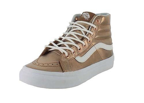 89472616 Vans Womens Metallic SK8-Hi Slim Sneaker