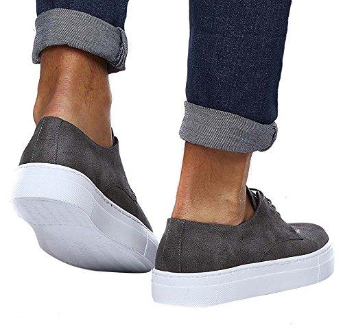 LN153 Grigio NELSON LEIF Sneaker uomo 7fFnqTx
