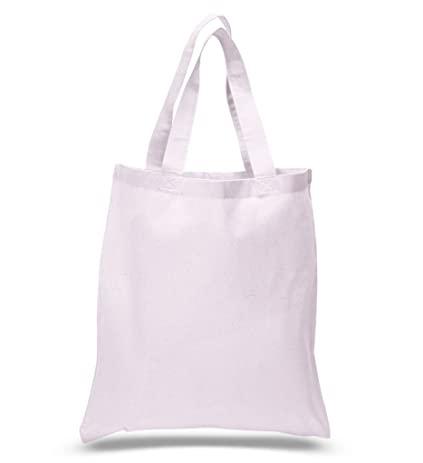 amazon com pack of 24 100 natural cotton tote bags plain tote