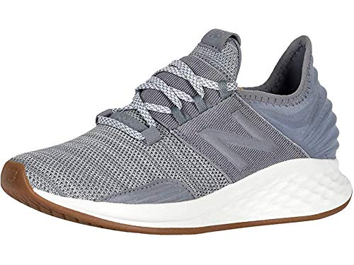 New Balance Women's Roav V1 Fresh Foam Running Shoe ,Gunmetal/Light Aluminum , 7 M US