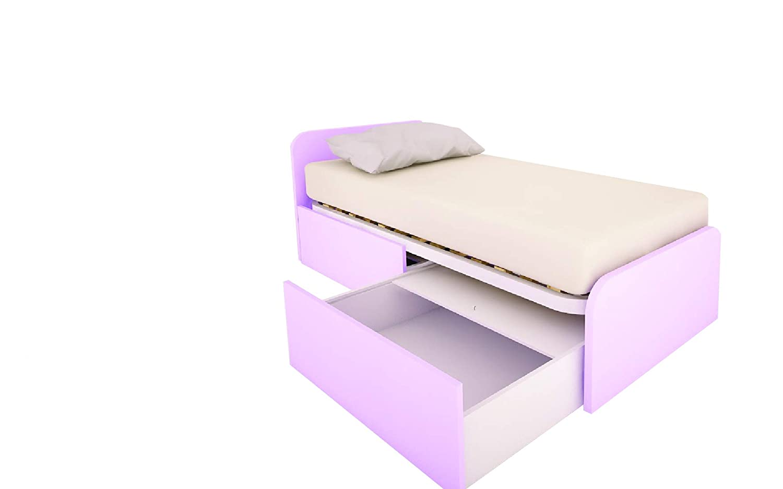 MOBILFINO CAMERETTE 964 C Cama Dormitorio diseño Personalizado con cajones extraíbles