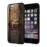 NCAA ISU Tiger football, Cool iPhone 6 Plus (6+ , 5.5'') Smartphone Case Cover Collector iphone TPU Rubber Case Black