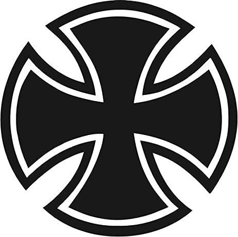 Amazon Maltese Cross Symbolic Vinyl Decal Sticker 20 Wide