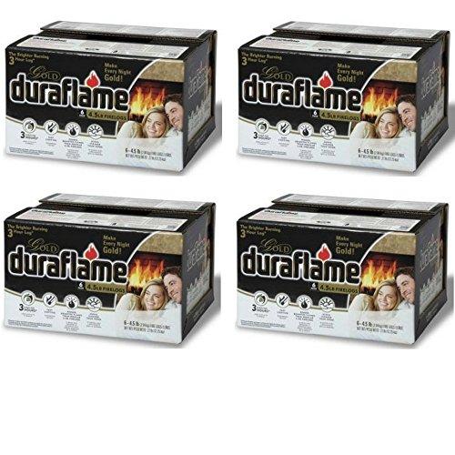 Duraflame 4577 Ultra-Premium Firelogs, 4.5-Pound, 24-Pack