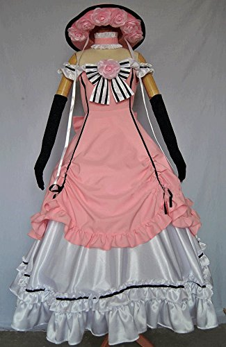 Black Butler Pink Maid Ciel Phantomhive Cosplay Costume Customize Cosplay -