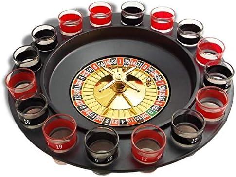 juego de la ruleta para beber y beber 16 vasos tirador con: Amazon.es: Electrónica