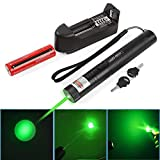 Green Laser Pointer Pen, Rechargeable High Power Laser Pen Pointer, Tactical Green Hunting
