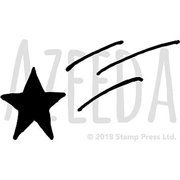 Azeeda A4 Sternschnuppe Wandschablone Vorlage Ws00023219