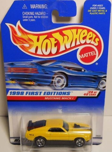 Hot Wheels 1998 First Editions #29 Mustang Mach (Mach 1 Body)