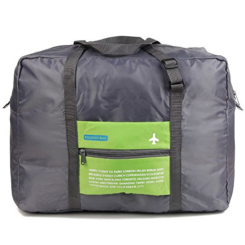 50a3182d9 Travel Bag Lightweight Duffel Gym Bag Waterproof Foldable Portable Luggage  Bag Men Women (32L, Green)