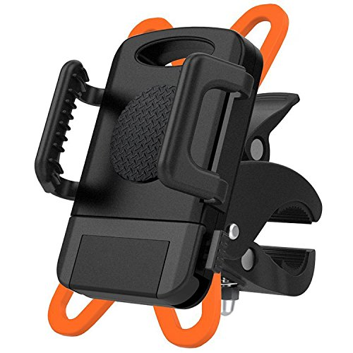 Fans Bike Phone Mount Bicycle Holder, Universal Cradle Clamp