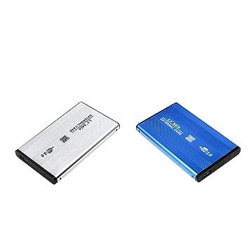 perfk - Carcasa para Disco Duro Externo (USB 2.0, SATA IDE ...