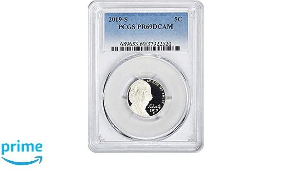 2007 S 5c Jefferson Nickel PCGS PR 69 Deep Cameo